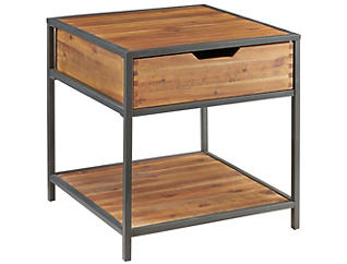 Hudson Side Table, Metal, , large