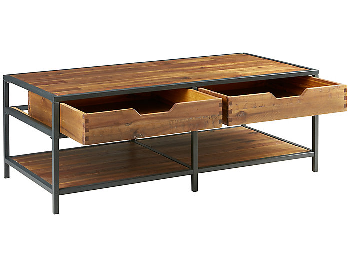 Hudson Coffee Table, Metal, , large