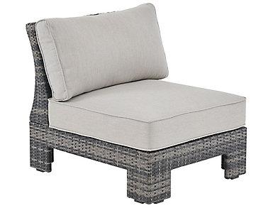 Arianne Armless Chair, Grey, , large