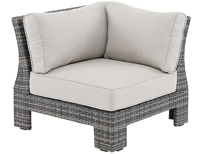 ... Arianne Corner Chair, Grey, , Large ...