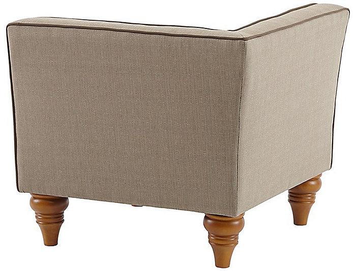 Stannis Corner Chair, Beige, , large