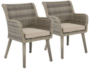 Elia Arm Chair (Set of 2), Grey, , large