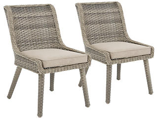 Elia Dining Chair (Set of 2), Grey, , large
