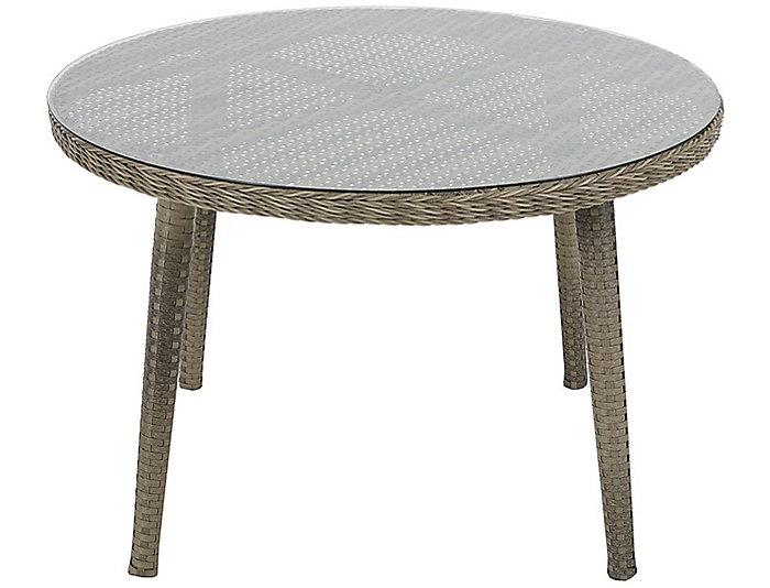Elia Round Dining Table, Grey, , large