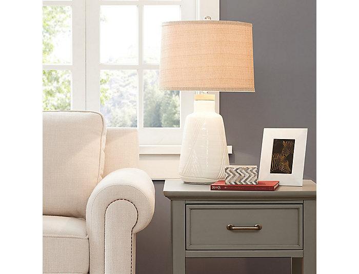 Tate Ivory Table Lamp, , large