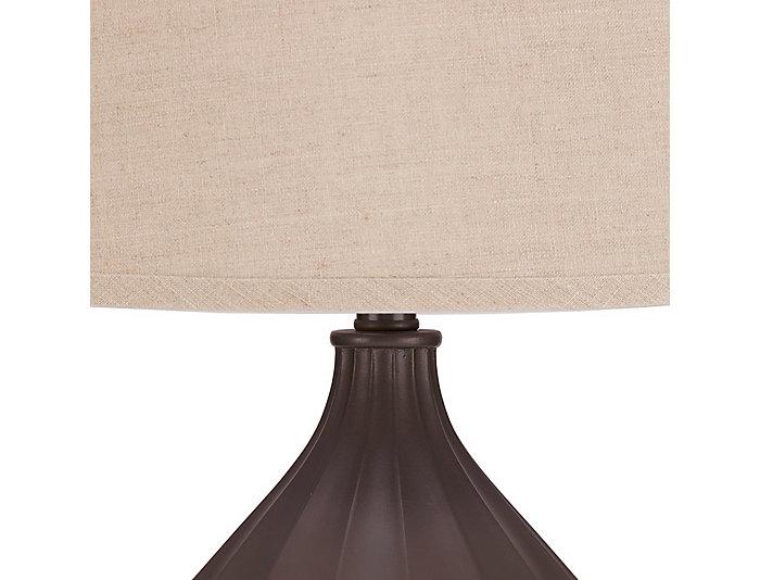 Rowan Black Table Lamp, , large