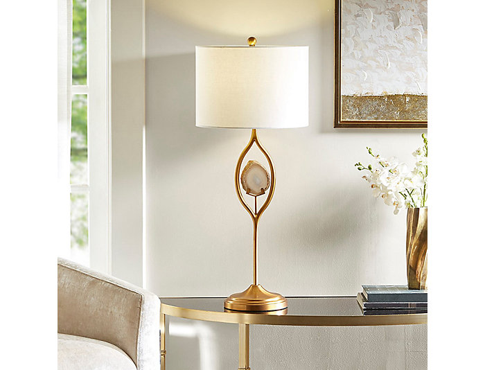 Carla Gold Table Lamp, , large