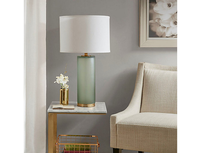 Aria Green Table Lamp, , large