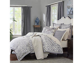 Stein Queen 8 Piece Comforter Set, , large