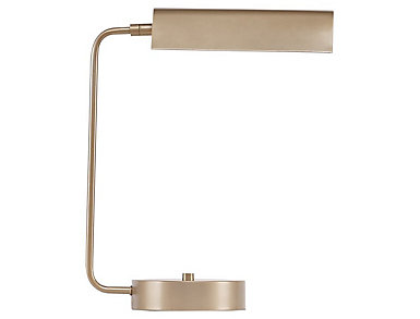 Bringham Gold Desk Lamp, , large