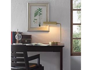 Bringham Gold Desk Lamp, , large