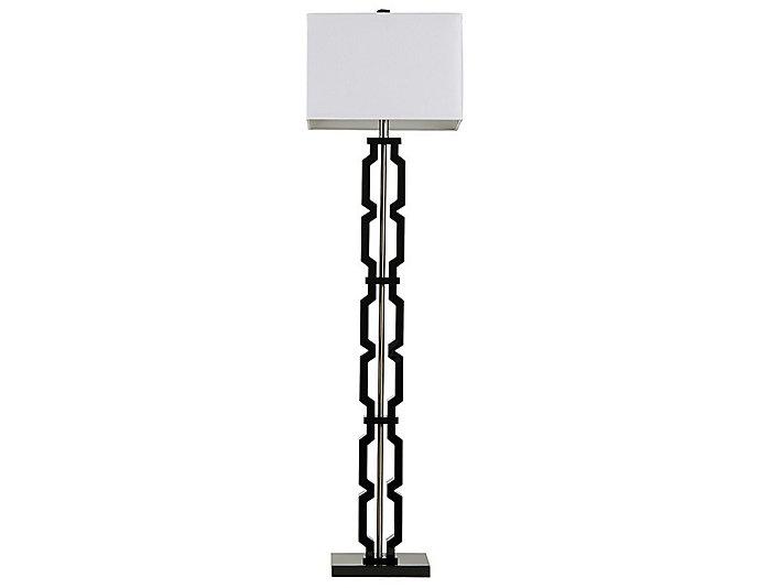 Moderne Black Floor Lamp, , large