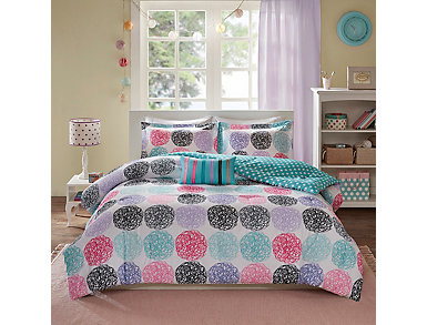 Carly Twin/Twin XL 3 Piece Comforter Set, , large