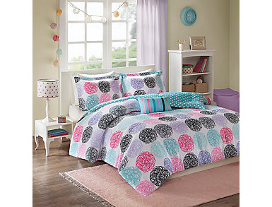 4Pc Carly Full/Queen Set, , large