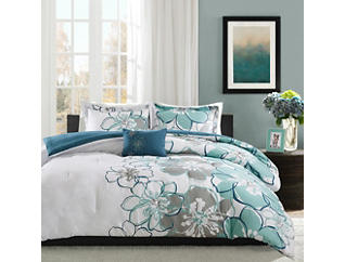 Allison Twin/Twin XL 3 Piece Comforter Set, , large