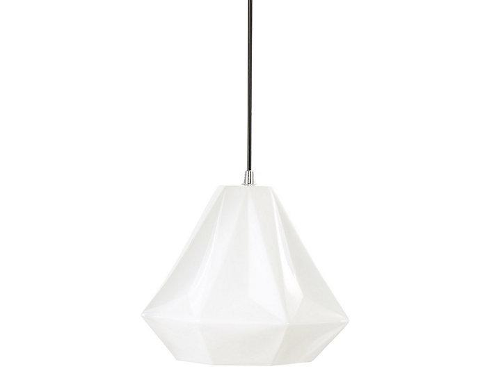 Sophie Medium White Pendant, , large