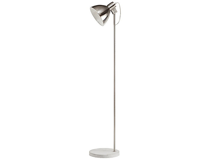 Largo Silver Floor Lamp, , large