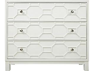 Matrix White Accent Cabinet, , large