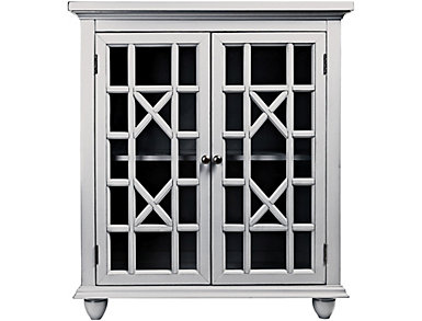 Brighton Park White Cabinet, , large