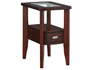 Montego Chairside Table, Brown, , large