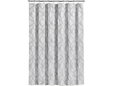 Horizons Shower Curtain, , large