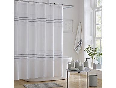 Lulu Shower Curtain, , large
