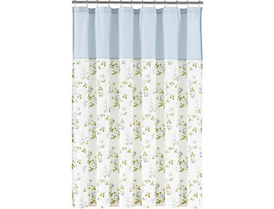Rosalie Shower Curtain, , large