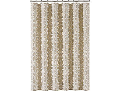 Lombardi Shower Curtain, , large