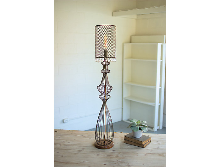 Large wire table lamp keyboard keysfo Image collections