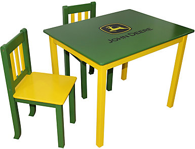 John Deere Table and Chairs, , large