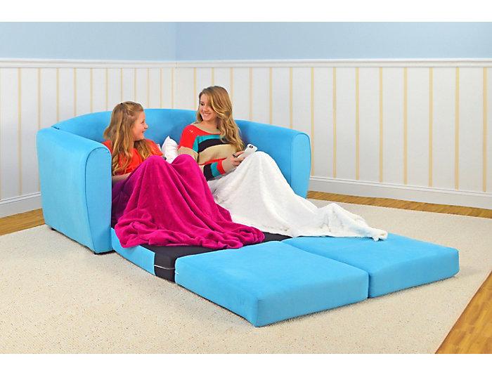 Tween Sleeper Sofa Sky Blue Art Van Home