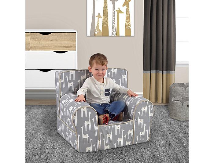 Grab-n-go Chair Grey/White, , large