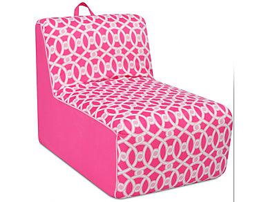 Tween Lounger Pink, , large