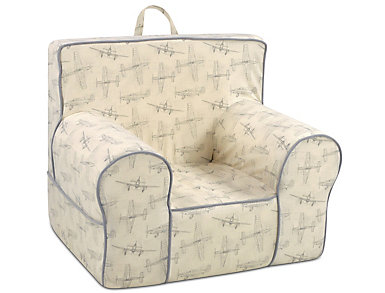 Grab-n-go Chair Ivory/Taupe, , large