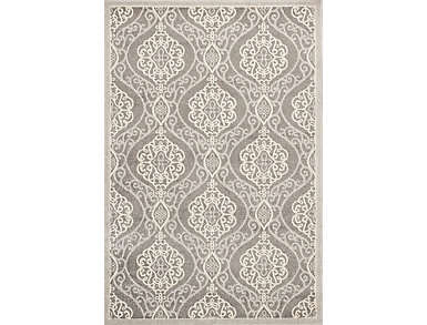 "Lucia Silver Mosaic 1'11"" x 3'9"" Rug, , large"