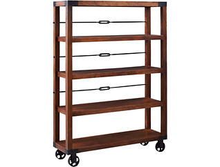 Wheeled Bookcase, , large