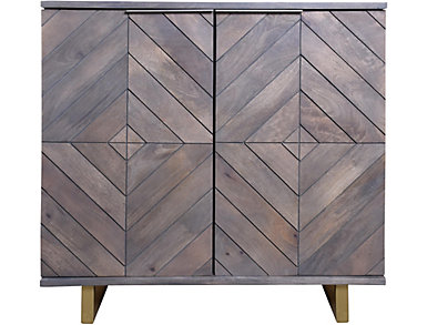 Small Checkered Sideboard, , large
