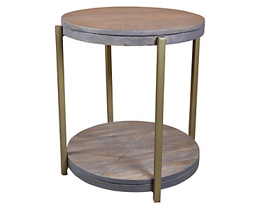 Mango Wood Tray Table, , large
