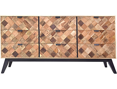 Patterned Sideboard in Mango, , large