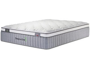 Sleep to Live Series 600 Blue/Blue California King Mattress, , large