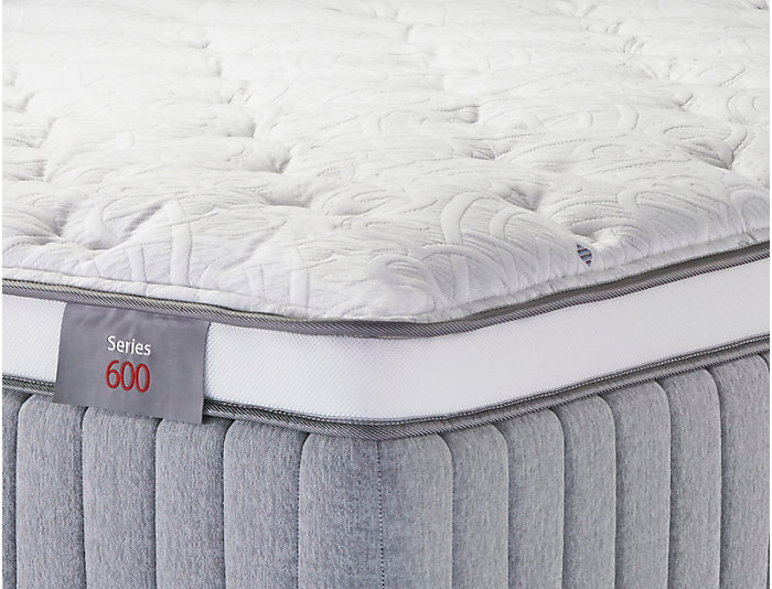 Sleep to Live Series 600 Blue/Blue King Mattress, , large