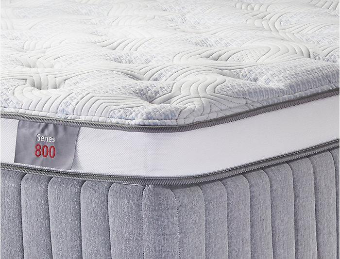 Sleep to Live Series 800 Blue/Blue King Mattress, , large