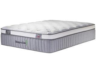 Sleep to Live Series 800 Green/Green Twin XL Mattress, , large