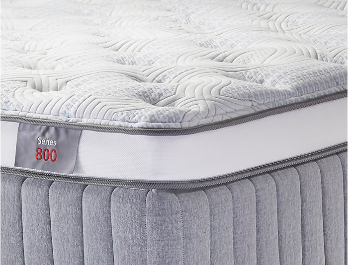 Sleep to Live Series 800 Red/Red California King Mattress, , large