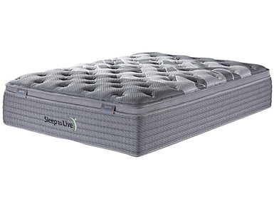 Sleep to Live Series 4.0 King Blue/Blue Mattress, , large