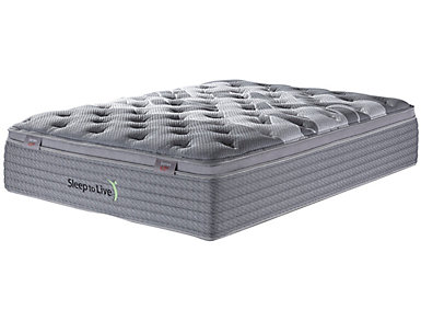 Sleep to Live Series 4.0 California King Mattress, , large