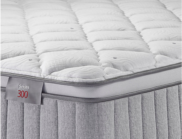 Sleep to Live Series 300 Red/Red Full XL Mattress Set, , large