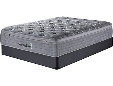 Sleep to Live Series 2.0 California King Mattress Set, , large
