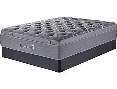 Sleep to Live Series 3.0 Green/Red California King Mattress Set, , large