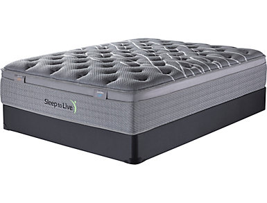 Sleep to Live Series 3.0 Split Queen Low Profile Mattress Set, , large